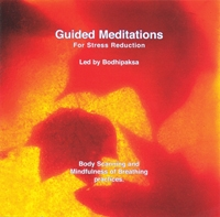 Guided Meditations for Stress Reduction CD by Bodhipaksa
