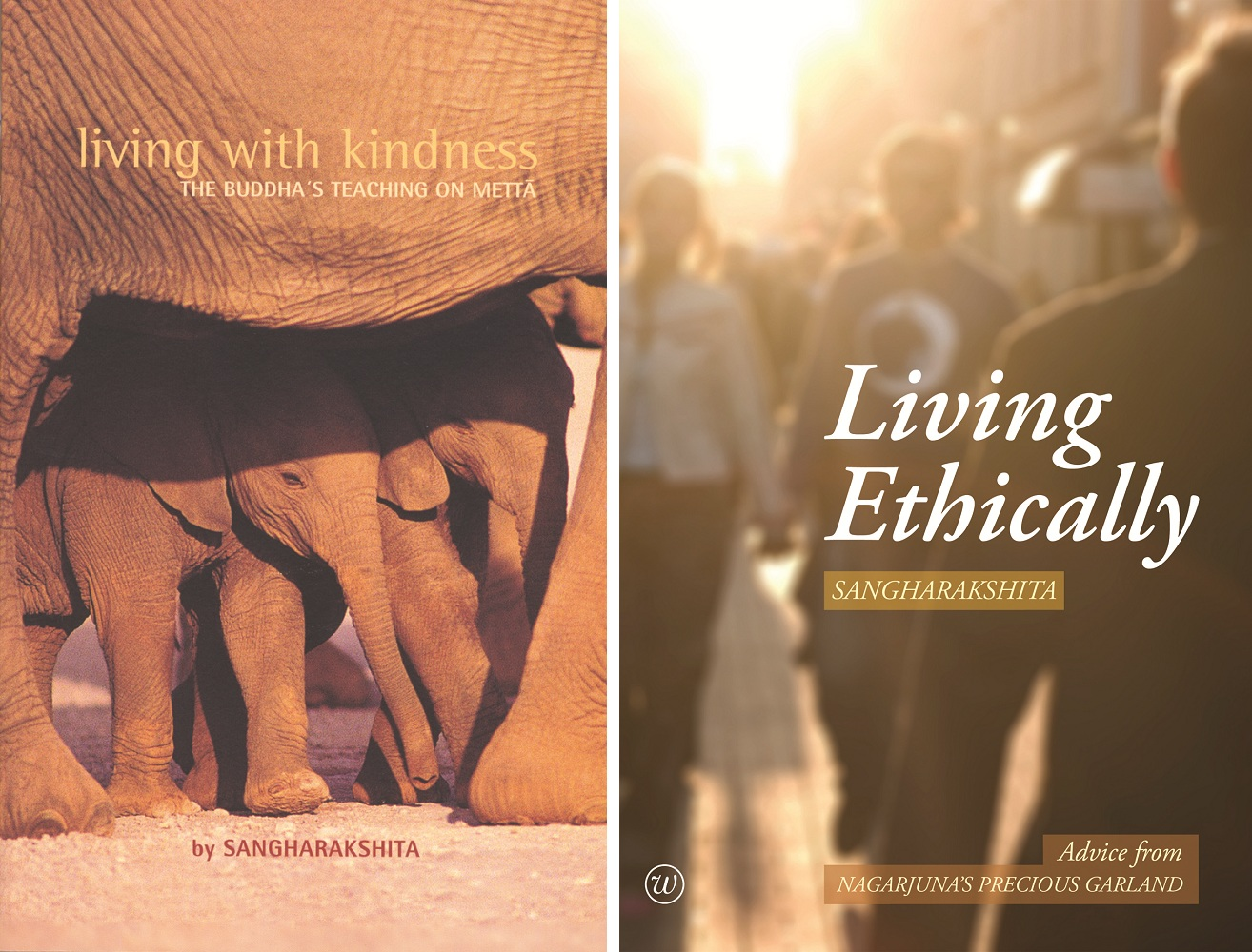 Support our campaign to reprint Sangharakshita's Living with Kindness and Living Ethically and receive three DRM-free eBooks, including A Survey of Buddhism