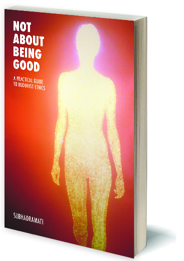 New tour dates from Subhadramati and your chance to win a signed copy of Not About Being Good!