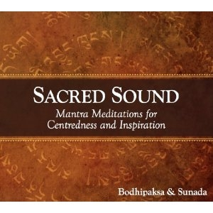 Sacred Sound CD by Bodhipaksa