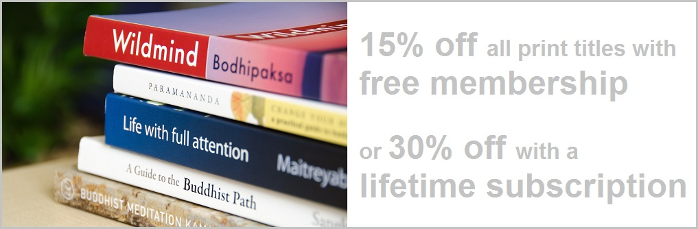 15-30% off all purchases with Windhorse Publications membership!