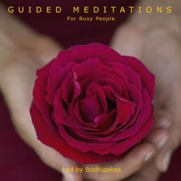 Guided Meditations for Busy People CD by Bodhipaksa