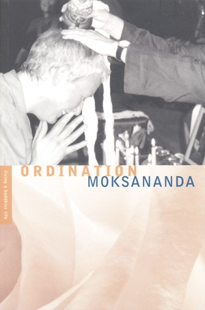 Ordination by Moksananda
