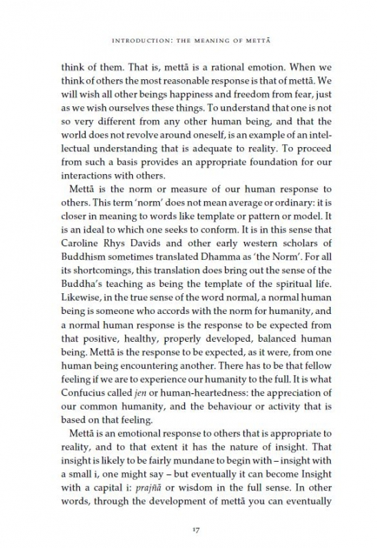 Living With Kindness The Buddhas Teaching On Mettā Paperback